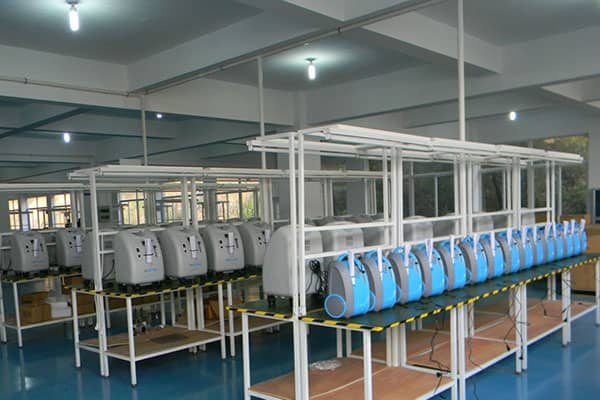 GBA Oxy-Tech Co. Ltd - Factory